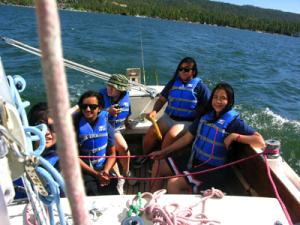 Sail crew