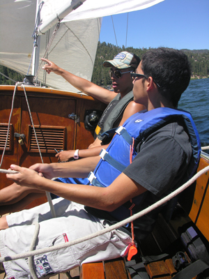 Under Sail instruction